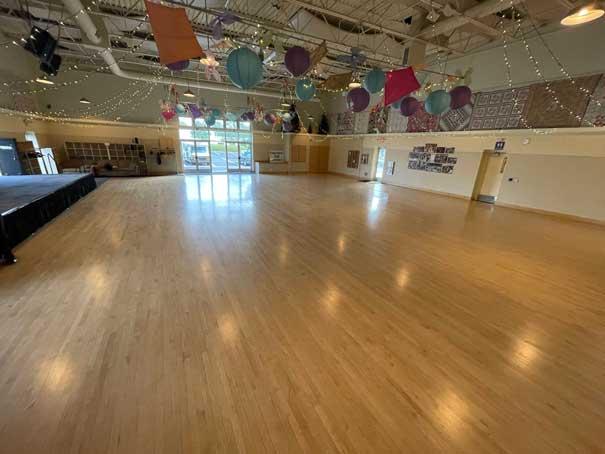 a ballroom at its best dance studio